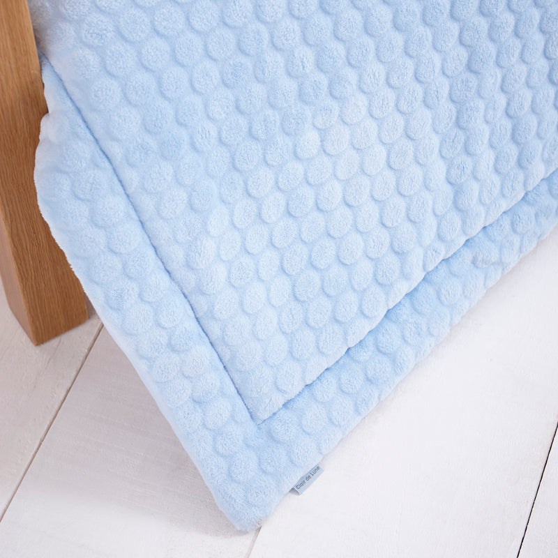 Marshmallow 3 Piece Cot/Cot Bed Quilt & Bumper Bedding Set