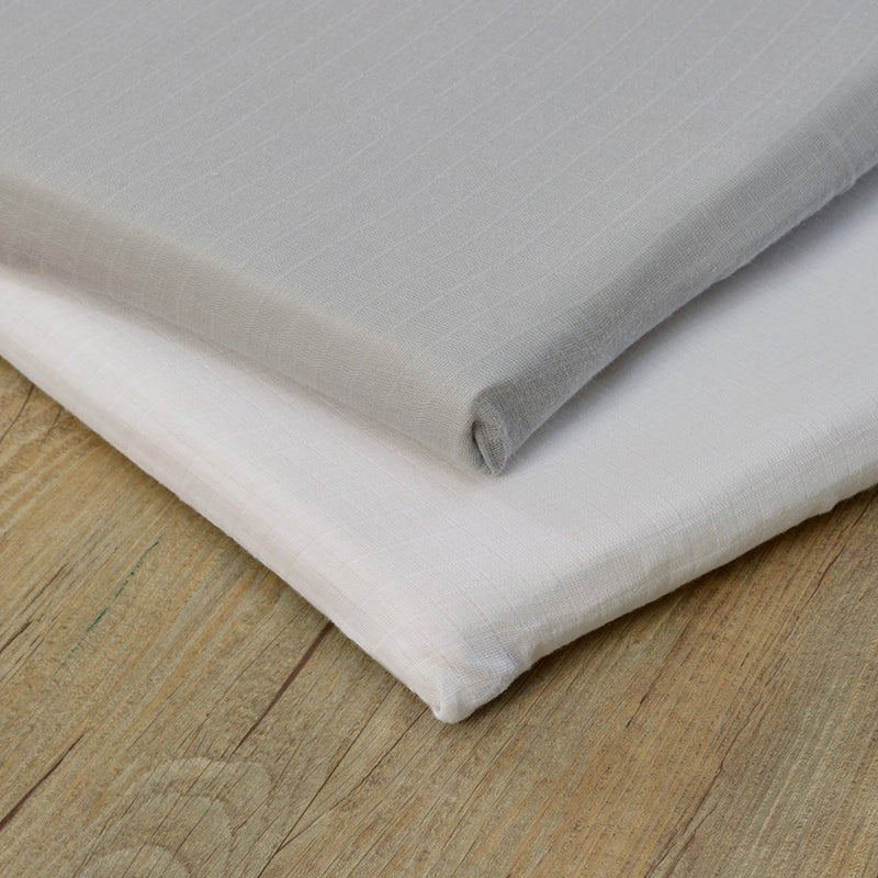 Muslin 2 Pack Fitted Pram/Crib Sheets