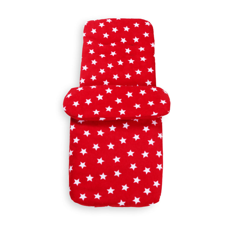 Star Fleece Pushchair Footmuff