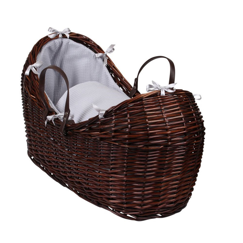 Waffle Dark Wicker Noah Pod® in Grey