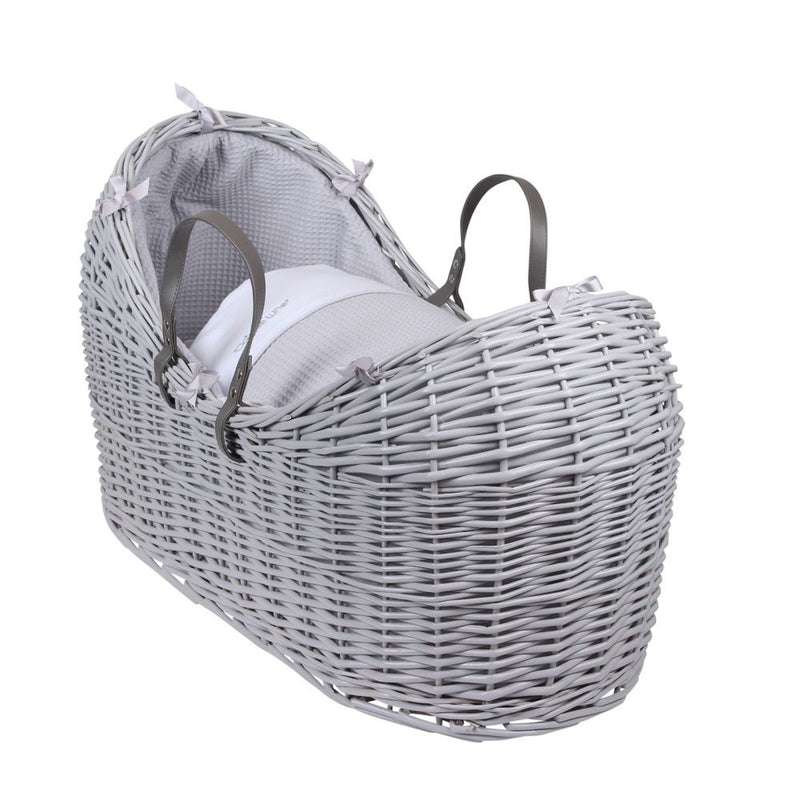 Silver Lining Grey Wicker Noah Pod® in Grey