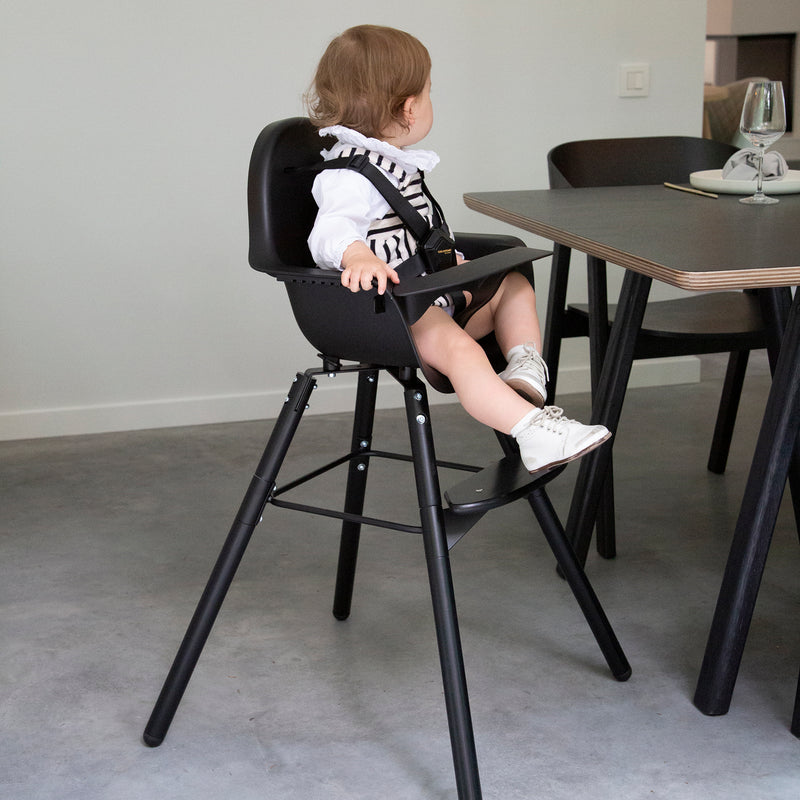 Childhome Evolu 2 Chair - 2 In 1 with Bumper