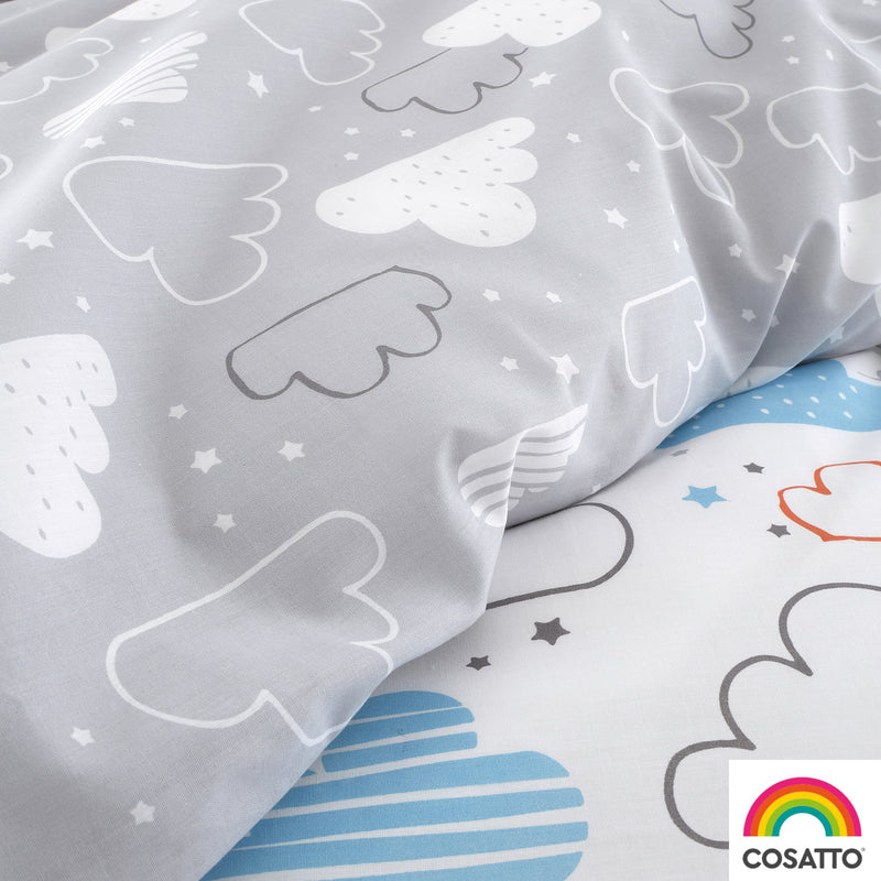 Cosatto Fairy Clouds Single Bed Duvet Cover Set
