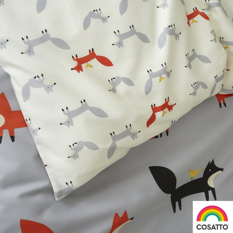 Cosatto Mister Fox Junior Bed Duvet Cover Set