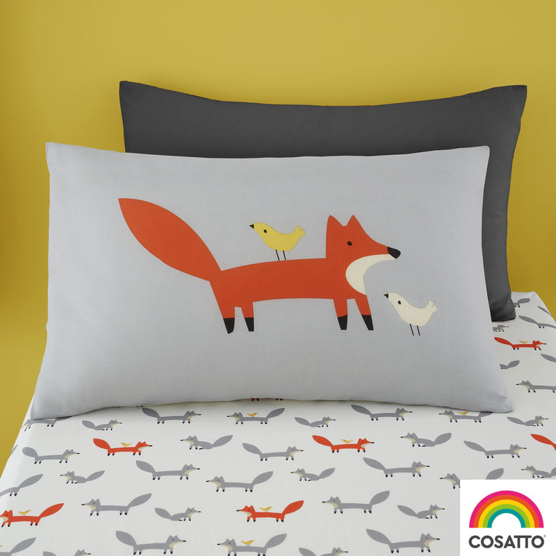 Cosatto Mister Fox Single Bed Duvet Cover Set