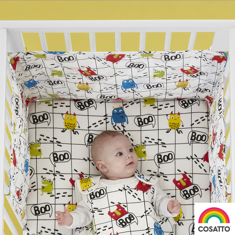 Cosatto Monster Mob Cot Bumper