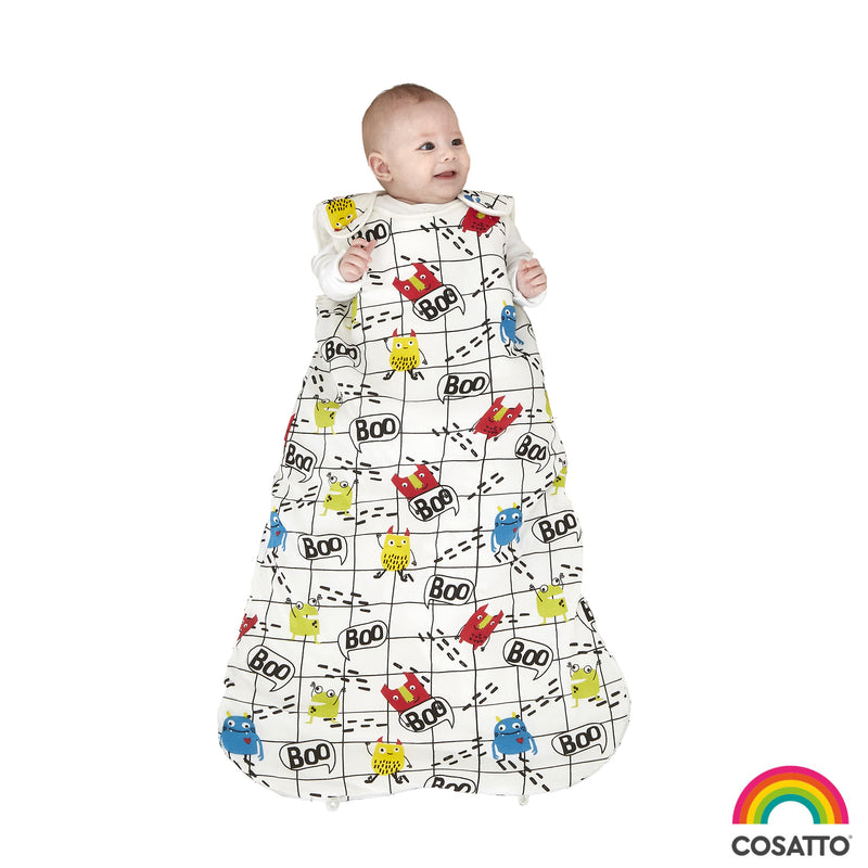 Cosatto Monster Mob Baby 2.5 Tog Sleeping Bag - 0-6 Months