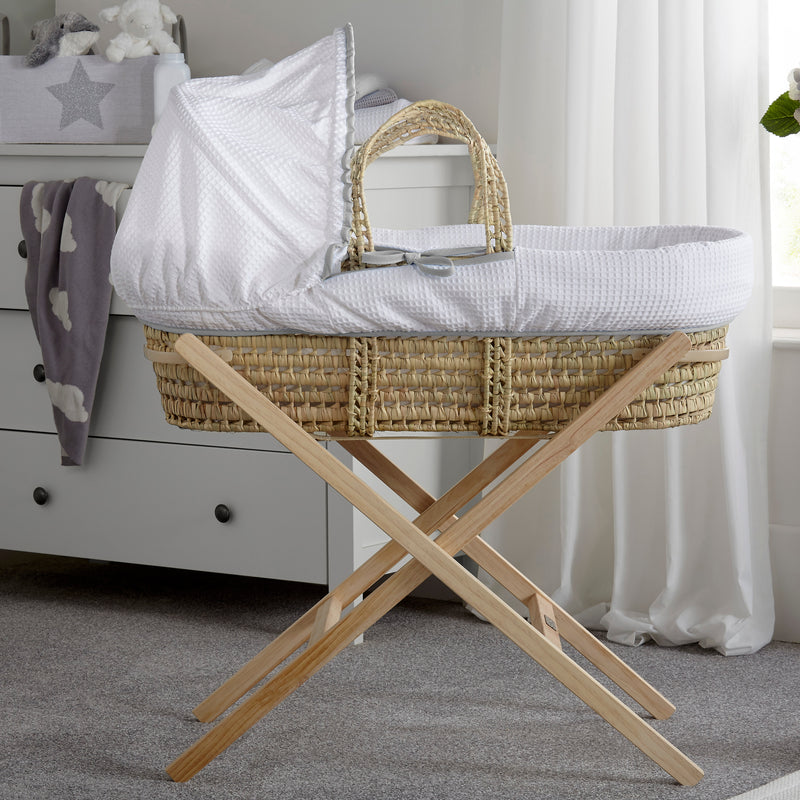 Over The Moon Palm Moses Basket