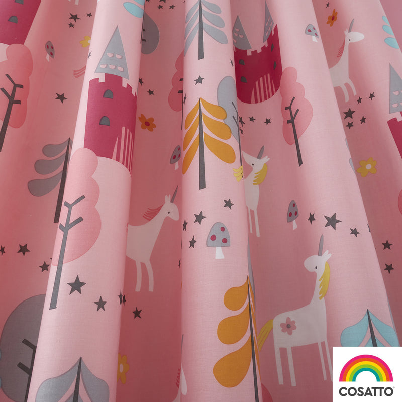 "Cosatto Unicornland Pencil Pleat Curtains - 66"" Width x 72"" Drop"