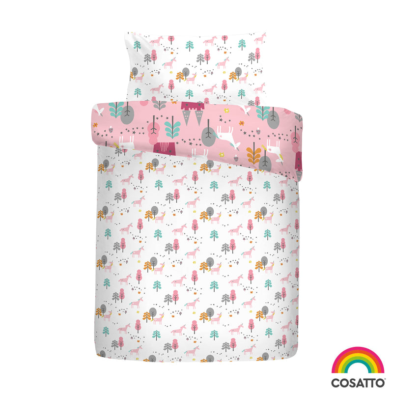 Cosatto Unicornland Junior Bed Duvet Cover Set