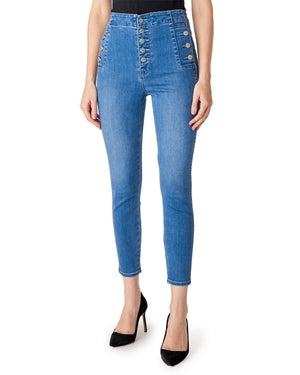 Natasha Sky High Cropped Skinny Denim