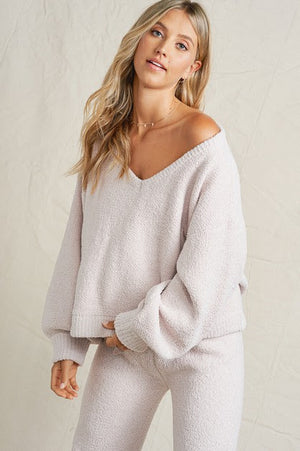 Fuzzy Oversized Sweater