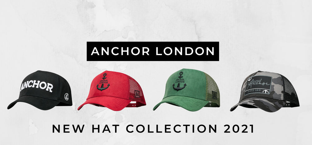 Anchor London Luxury hats slide