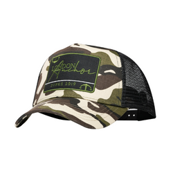 Anchor Pantone Green Camouflage Trucker - Anchor London