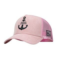 Anchor London Pink & Black Logo Hat - Anchor London