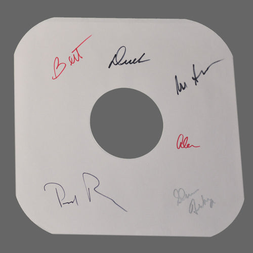 Signed Album Sleeve (Album Not Included)