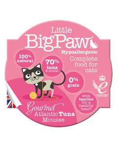 Little Big Paw Cat Gourmet Tuna Mousse