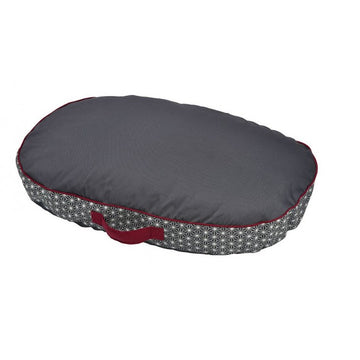 ASANOHA CUSHION - GREY / LARGE