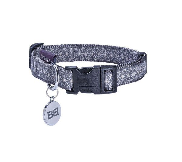 ASANOHA COLLAR - GREY (4611517808693)