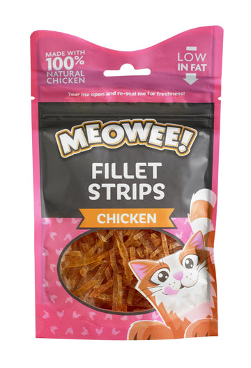 MEOWEE! FILLET STRIPS CHICKEN