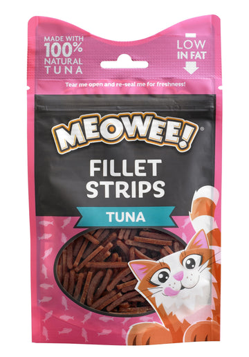 MEOWEE! FILLET STRIPS TUNA
