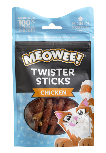 MEOWEE! TWISTER STICKS CHICKEN