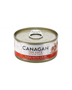 Canagan Tuna with Crab Cat Tin Wet Food (4597447458869)