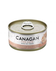 Canagan Chicken with Crab Tin Cat Wet Food