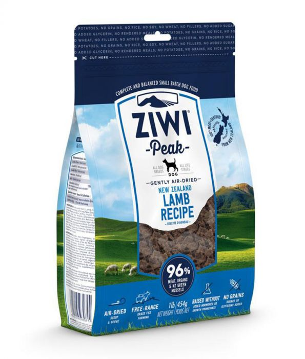 ZiwiPeak Air Dried Lamb Dog Food (4KG) (4597567062069)
