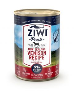 ZiwiPeak Venison Recipe Canned Dog Food (390g)