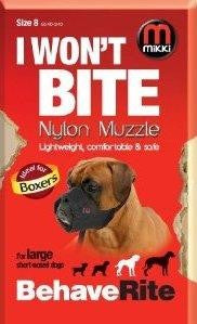 NYLON DOG MUZZLE FOR BOXER BREED