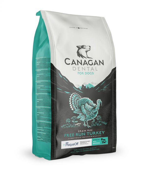 Canagan Free Run Turkey Dental Dogs Dry Food (4597492645941)