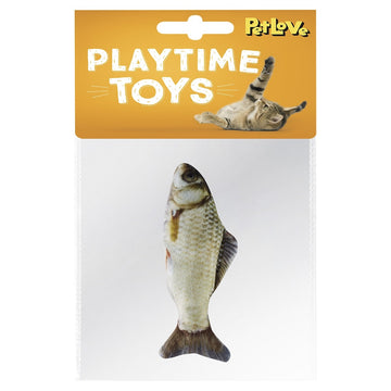 CATNIP FISH - YELLOWFIN BARB 10CM