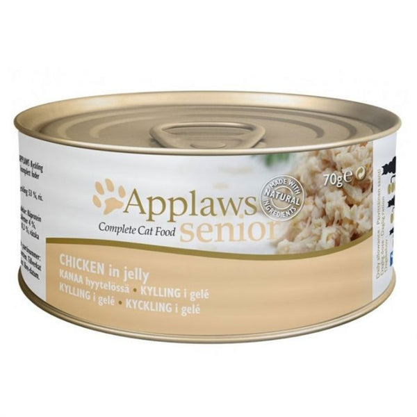 Applaws Cat Senior Chicken Jelly Tin (4596807303221)