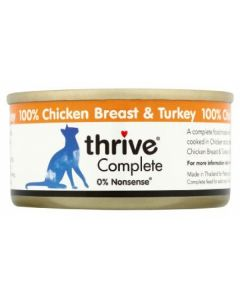 Thrive Complete Cat Chicken & Turkey Wet Food (4597472034869)