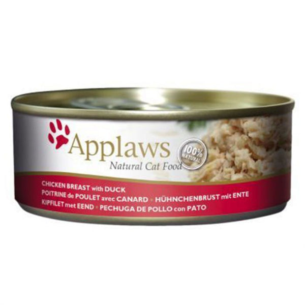 Applaws Cat Chicken with Duck Tin (4597439791157)