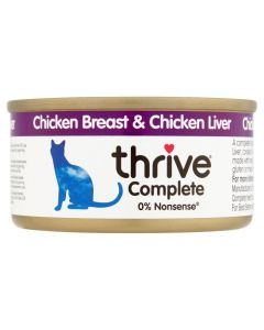 Thrive Complete Cat Chicken & Liver Wet Food