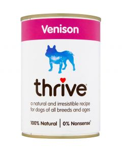 Thrive Complete Dog Venison Wet Food (400g) (4597578596405)