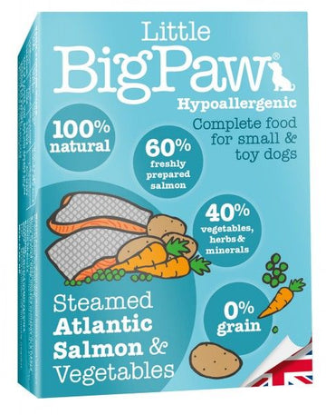 Little Big Paw Dog Salmon & Vegetable Dinner (150g)
