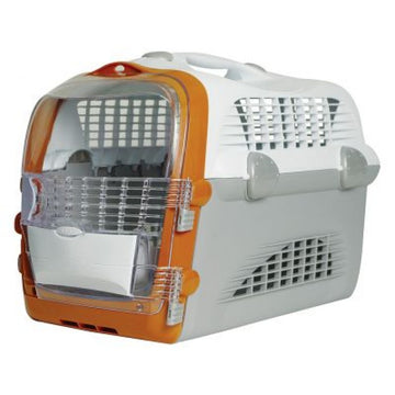 CABRIO CAT CARRIER SYSTEM - WHITE/GREY