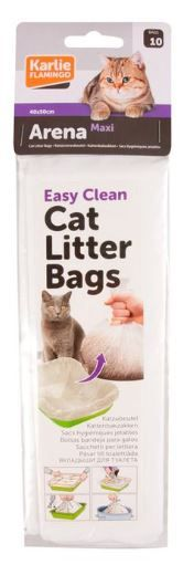 Flamingo  Cat Litter Bags 10pcs - Maxi
