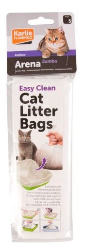 Flamingo Arena Cat Litter Bag 5pcs - Jumbo
