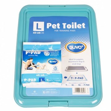 DUVO PET TOILET +7 PADS : LARGE