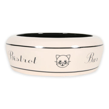 NO WASTE CERAMIC CAT BOWL BAR