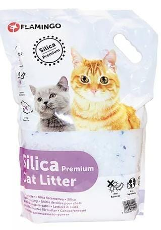 Flamingo Percato Premium Silica Cat Litter (4.25 KG)