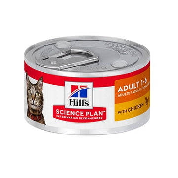 Science Plan Adult Cat Chicken – Can