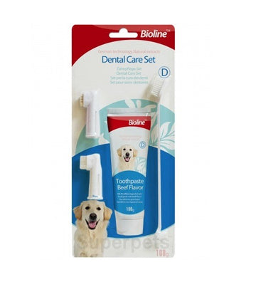 BIOLINE DENTAL CARE SET  (BEEF)