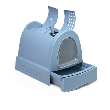 IMAC CAT LITTER BOX -BLUE