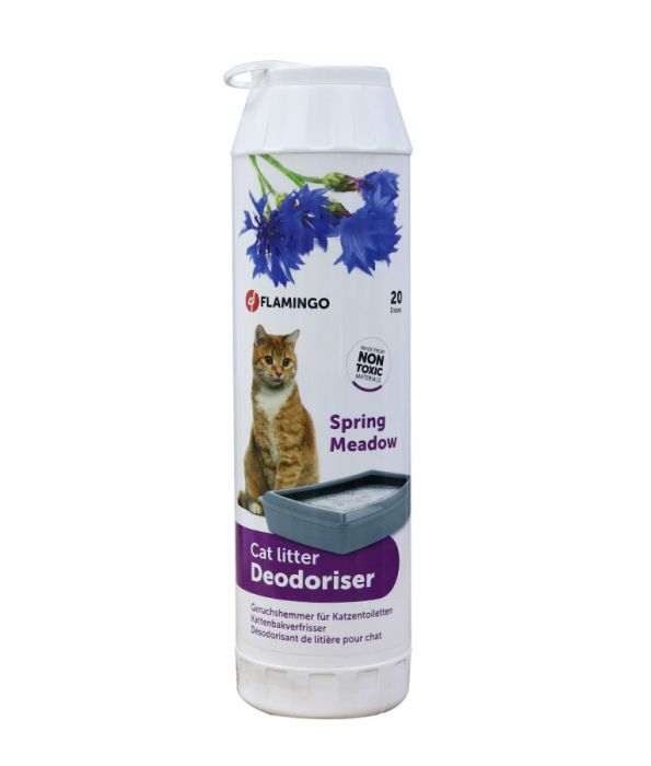 Flamingo Cat Litter Deo Spring Meadow (4601290063925)