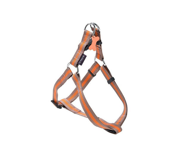 ARLEQUIN CLASSIC NYLON HARNESS - TAUPE (4611450011701)